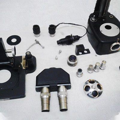 Manutenção de microscópio
